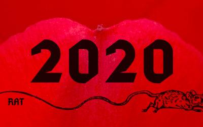 2020 : Bonne année du rat